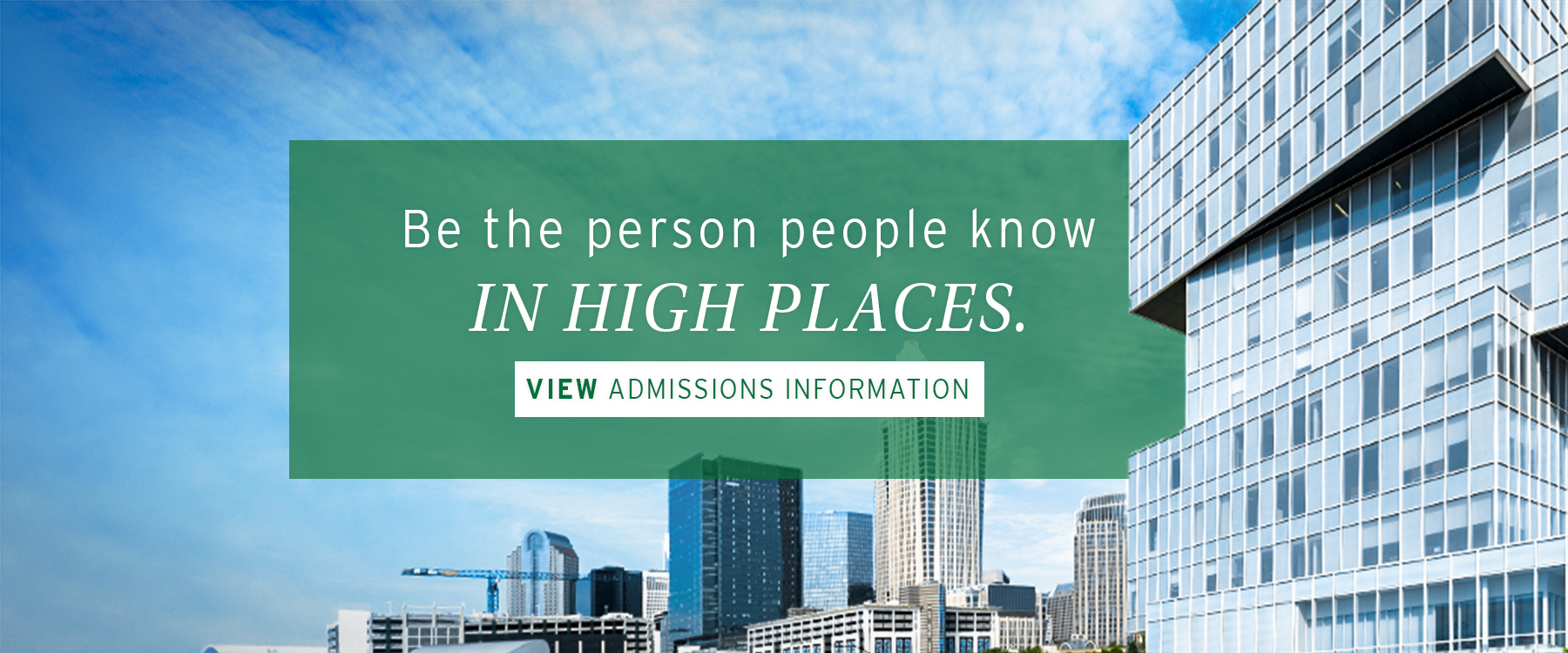 View Admissions Information